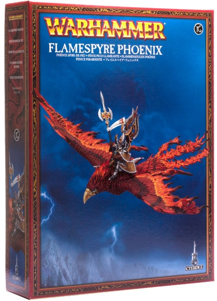 Набор миниатюр Warhammer 40,000. High Elf Flamespyre Phoenix