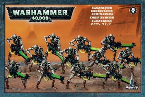 Набор миниатюр Warhammer 40,000. Necron Warriors