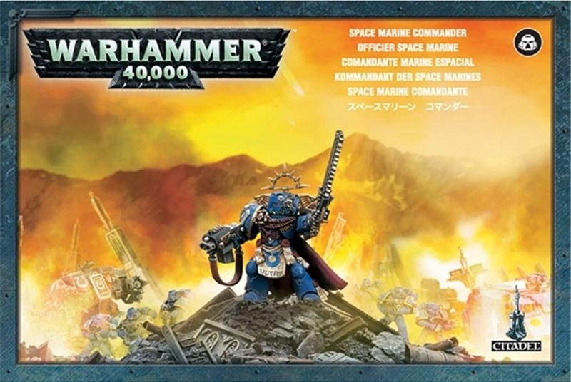 Набор миниатюр Warhammer 40,000. Space Marine Commander