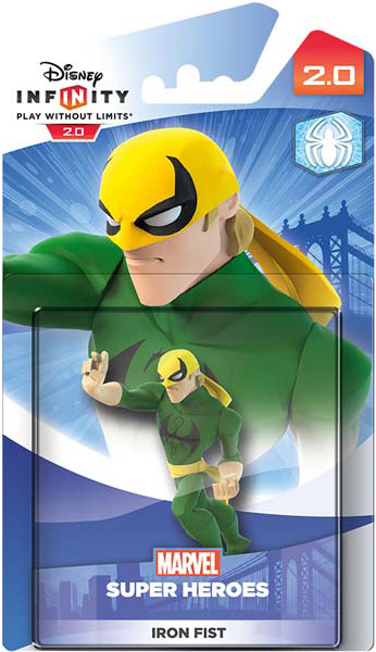 Disney Infinity 2.0. Marvel. Интерактивная фигурка персонажа Железный Кулак [PS3 / PS4 / Xbox 360 / Xbox One]