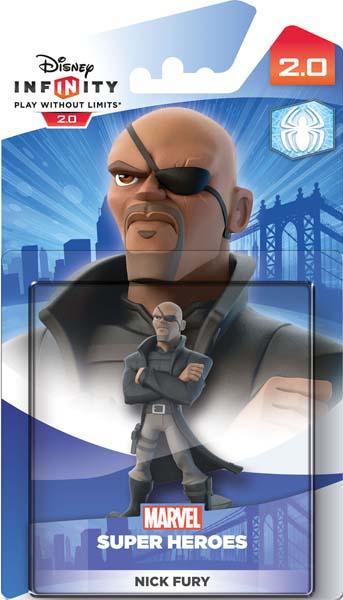 Disney Infinity 2.0. Marvel. Интерактивная фигурка персонажа Ник Фьюри [PS3 / PS4 / Xbox 360 / Xbox One]