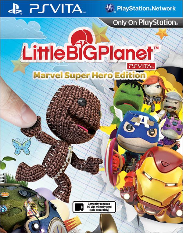 LittleBigPlanet Marvel Super Hero Edition [PS Vita]
