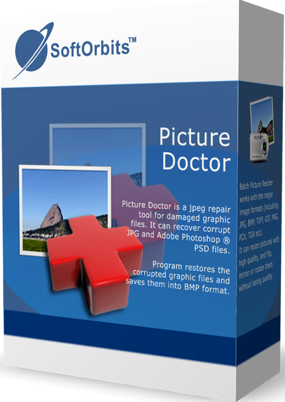SoftOrbits Picture Doctor (Доктор изображений для JPEG и PSD) (Цифровая версия)