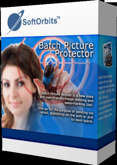 SoftOrbits Batch Picture Protector (Добавление логотипа на фото) (Цифровая версия)
