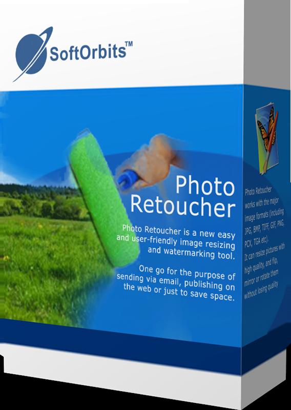 SoftOrbits Photo Retoucher (Домашняя обработка фото) (Цифровая версия)