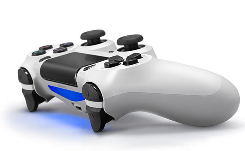 Беспроводной геймпад Dualshock 4 Glacier White для PS4 (белый) от 1С Интерес