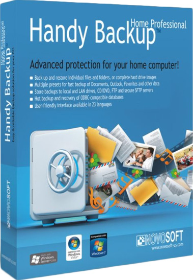 Handy Backup Professional 7 (Цифровая версия)Программа резервного копирования данных Handy Backup Professional предлагает оптимальный функционал для «горячего» резервного копирования файлов, папок, всей системы и баз данных.<br>