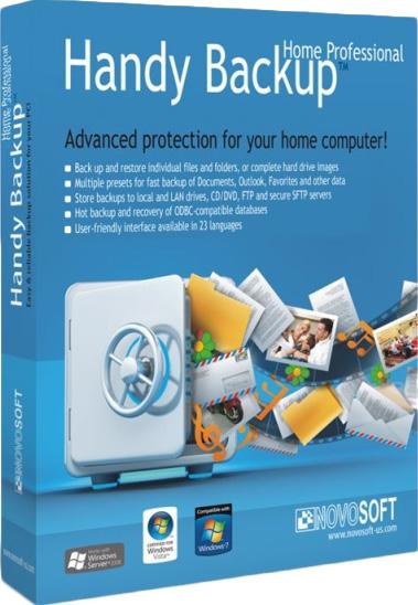 Handy Backup Professional 7 (Цифровая версия)