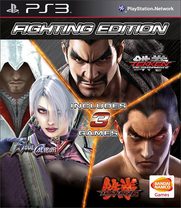 Fighting Edition (Tekken 6   Soul Calibur 5   Tekken Tag Tournament 2) [PS3]