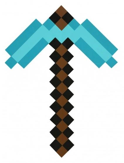 цены Пиксельная алмазная кирка (45 см)