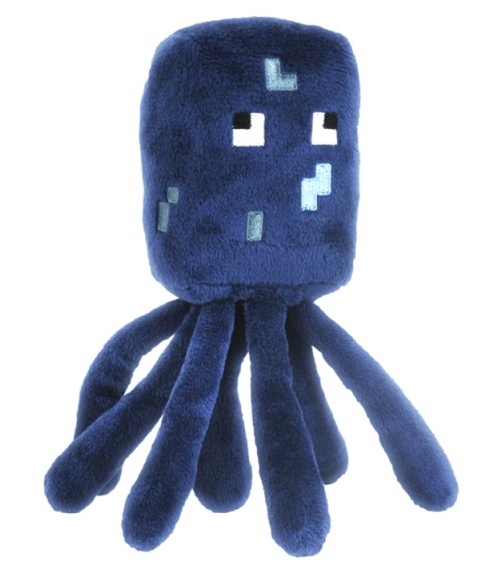 Мягкая игрушка Minecraft. Squid (18 см)Представляем мягкую игрушку Minecraft. Squid, созданную по мотивам компьютерной игры с видом от первого лица Minecraft.<br>