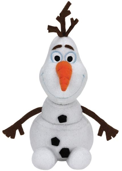 Мягкая игрушка Cнеговик Olaf со звуком (33 см)