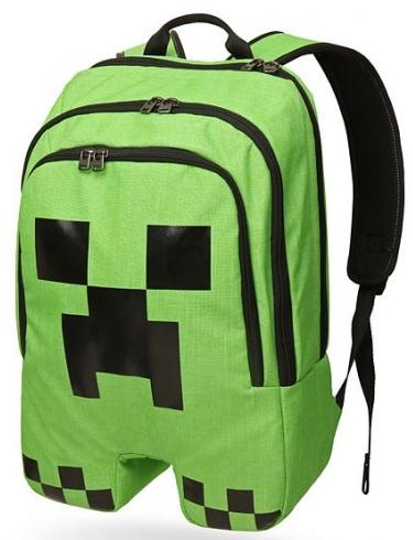 Рюкзак Minecraft. Creeper