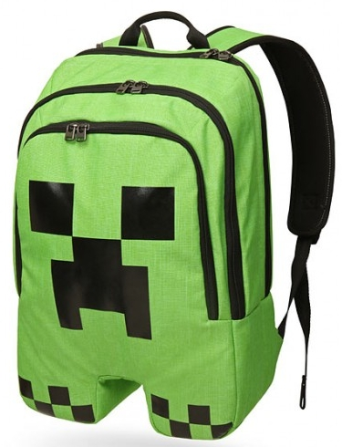 Рюкзак Minecraft. CreeperРюкзак Minecraft. Creeper для настоящих ценителей компьютерной игры Minecraft.<br>