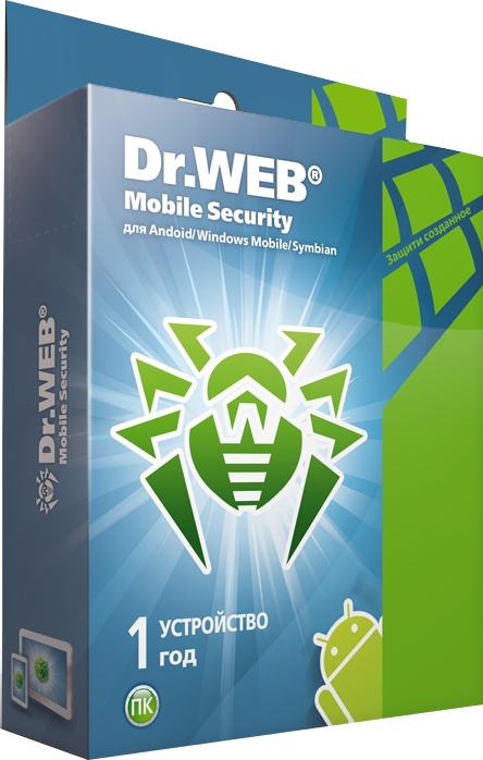 Dr.Web Mobile Security (1 устройство, 1 год) [Цифровая версия] (Цифровая версия) от 1С Интерес