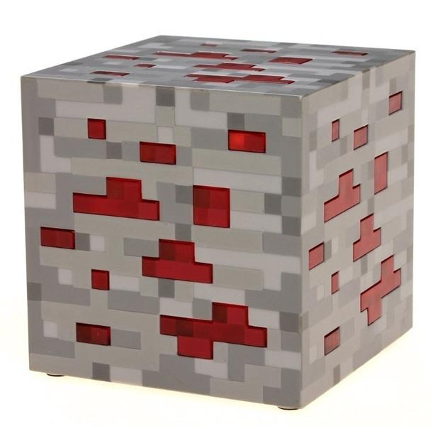 Лампа Minecraft. Redstone OreЛампа Minecraft. Redstone Ore &amp;ndash; фирменный фонарь-куб в каноничном дизайне из инди-игры Minecraft!<br>