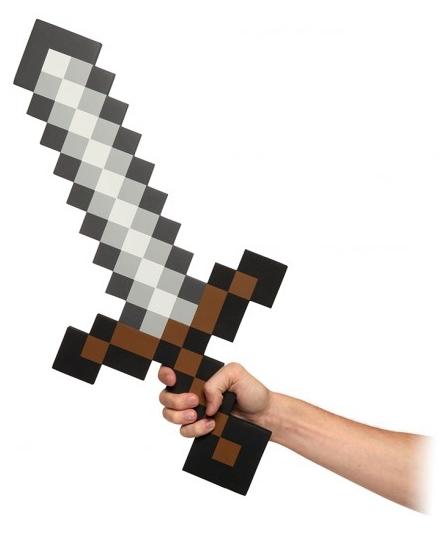 Меч Foam Sword (60 см)Представляем Меч Foam Sword, представляющий собой пиксельную игрушку.<br>