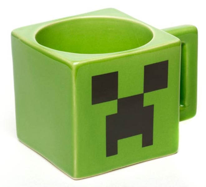 Кружка Minecraft. Creeper Face Mug (236 мл)Кружка Minecraft. Creeper Face Mug &amp;ndash; зеленая кружка с изображением лица Крипера из Minecraft!<br>