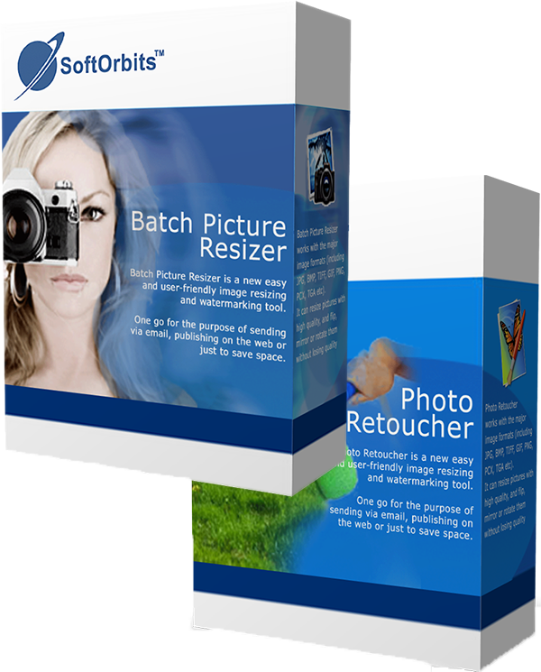 SoftOrbits Photo Retoucher + Batch Picture Resizer (Personal) Rus Promo (Цифровая версия)