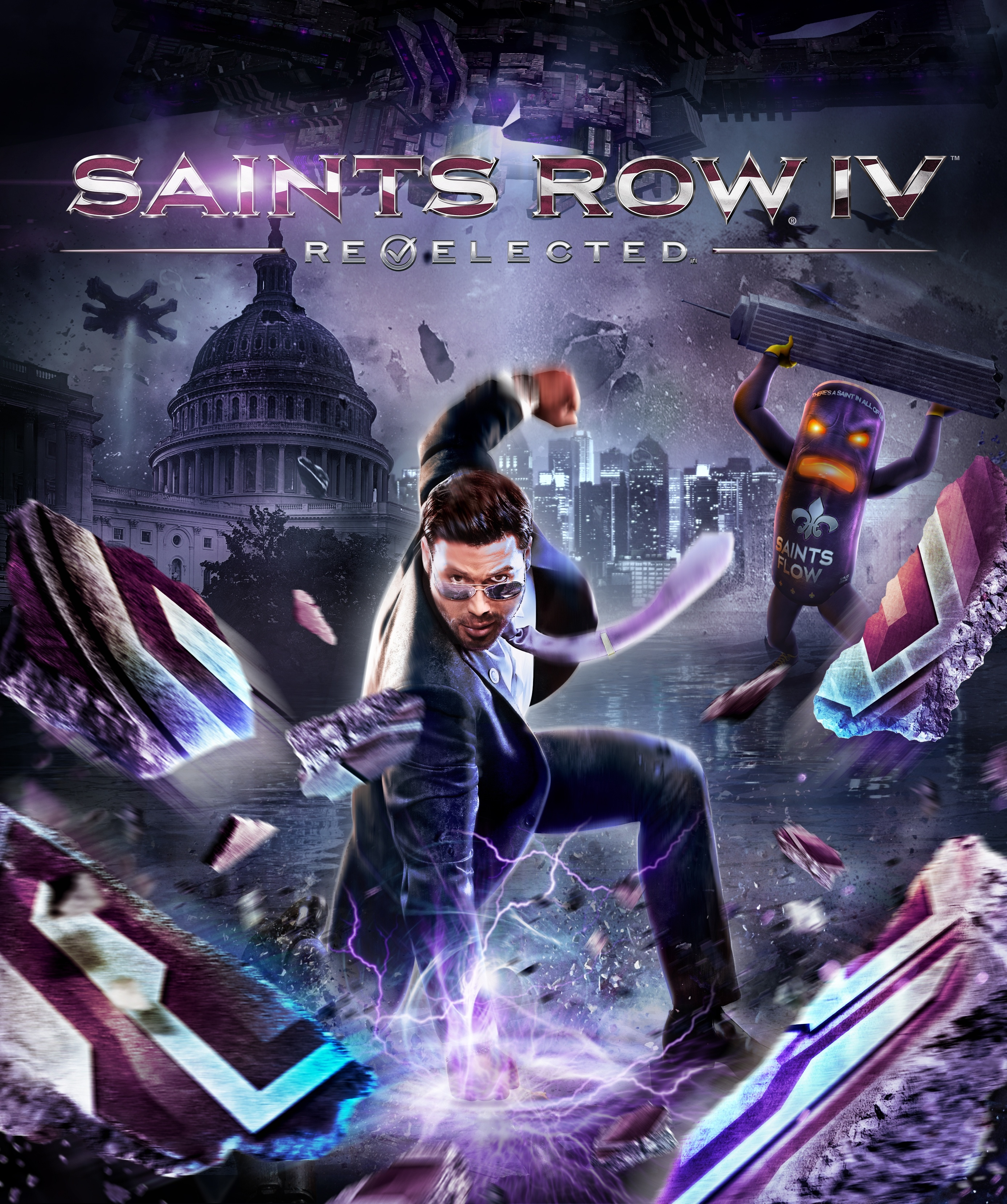 Saints Row IV. Re-Elected [PC, Цифровая версия] (Цифровая версия) saints row 4 super dangerous wad wad edition