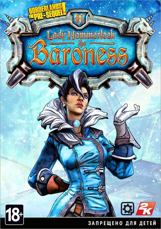 Borderlands: The Pre-Sequel. Набор «Баронесса леди Хаммерлок». Дополнение  лучшие цены на игру и информация о игре