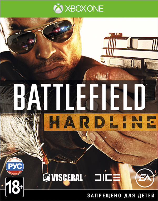 Battlefield Hardline [Xbox One]Battlefield Hardline &amp;ndash; это экшн-игра от первого лица, в которой разворачиваются борьба с преступностью и противостояние между полицейскими и бандитами.<br>