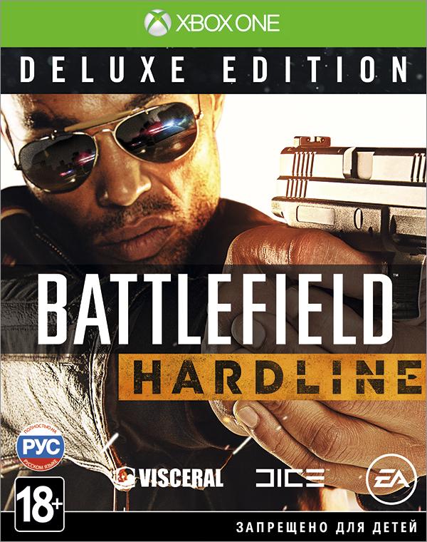 Battlefield Hardline. Deluxe Edition [Xbox One]Battlefield Hardline &amp;ndash; это экшн-игра от первого лица, в которой разворачиваются борьба с преступностью и противостояние между полицейскими и бандитами.<br>