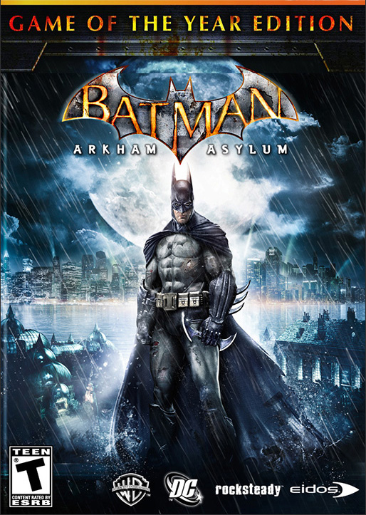 Batman: Arkham Asylum. Game of the Year Edition [PC, Цифровая версия] (Цифровая версия) игра софтклаб the elder scrolls iii morrowind game of the year edition