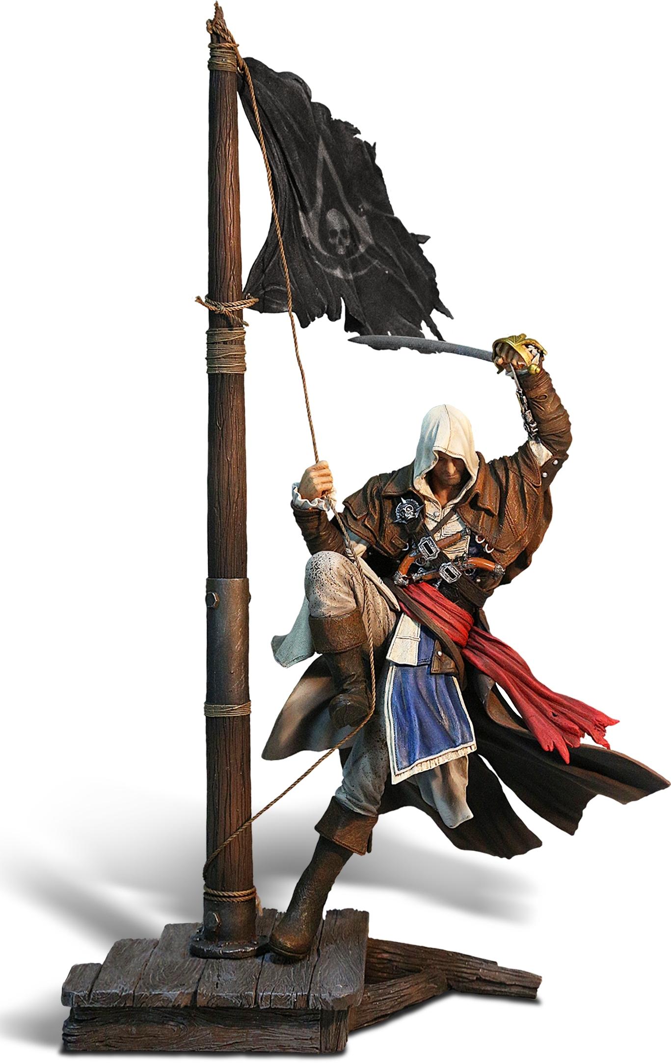 Фигурка Assassins Creed IV Edward Kenway: Master of the Seas (45 см)Для самых преданных фанатов серии игр Assassins Creed мы подготовили подарок! Только в «1С&amp;nbsp;Интерес» вы можете стать обладателем фигурки Assassins Creed IV Edward Kenway: Master of the Seas!<br>
