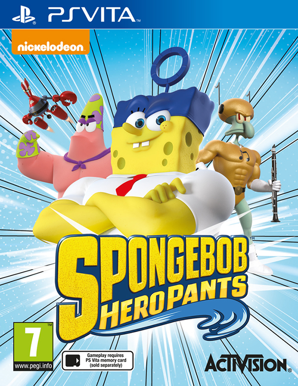 SpongeBob Heropants [PS Vita] от 1С Интерес