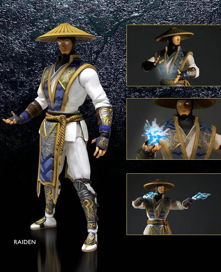 Фигурка Mortal Kombat X. Raiden (15 см)