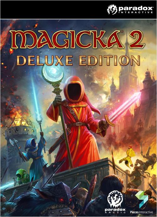 Magicka 2. Deluxe Edition (Цифровая версия)Самое хулиганское ко-оп приключение возвращается!  В новой главе Magicka II, игроки восстают из руин замка Алдрехейм, чтобы обнаружить Мидгард практически очищенным от волшебников. Лишь немногие остались живы после Войны магов, да и те либо обезумили, либо стали невероятно враждебны ко всему живому.<br>