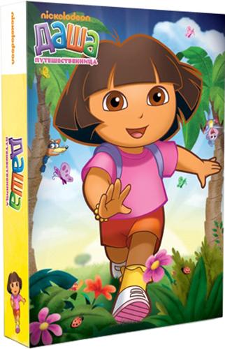 Даша-путешественница. Любимые серии (6 DVD) Dora the ExplorerГлавные герои мультсериала Даша-путешественница &amp;ndash; семилетняя американская девочка Даша и ее друзья. Это интерактивный мультфильм, подразумевающий активное участие маленьких зрителей в каждом приключении героев.<br>