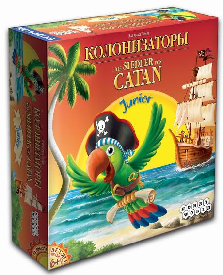 Настольная игра Колонизаторы. Junior настольная игра hobby world колонизаторы junior 2014 1270