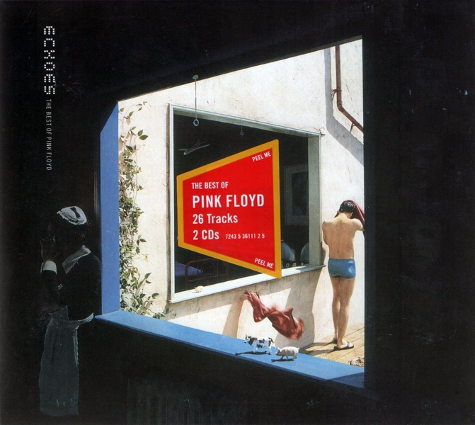 Pink Floyd. Echoes. The Best of Pink Floyd (2 CD)Pink Floyd. Echoes. The Best of Pink Floyd &amp;ndash; собрание лучших песен Pink Floyd. Выпущен в 2001 году.<br>