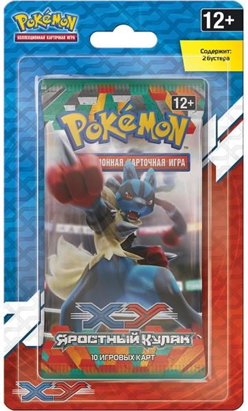 Коллекционная карточная игра Pokemon XY. Яростный кулак. Двойной блистерПредставляем вашему вниманию коллекционную карточную игру Pokemon XY. Яростный кулак. Двойной блистер – третий выпуск в новой эре.<br>