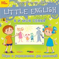 Little English. Я и моя семья. Игры и упражнения для малышейПрограмма Little English. Я и моя семья. Игры и упражнения для малышей приглашает дошкольников просмотреть серию обучающих мультфильмов.<br>