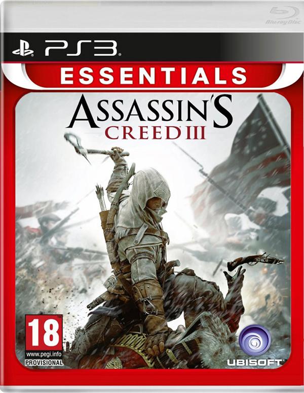 Assassins Creed 3 (Essentials) [PS3]Этот проект разрабатывался больше двух лет практически с нуля; в результате игра Assassins Creed III возносит прославленную серию Assassins Creed на невероятные новые высоты.<br>