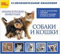 Энциклопедия домашних животных (собаки и кошки) сумку для собаки б у