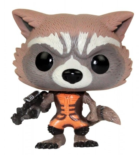 Фигурка The Guardians of the Galaxy. Rocket Raccoon (12 см)Фигурка The Guardians of the Galaxy. Rocket Raccoon &amp;ndash; виниловая фигурка-башкотряс Реактивного Енота (он же Ракета) из Стражей Галактики.<br>
