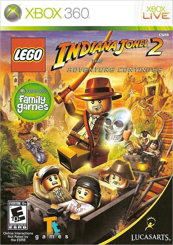 LEGO Indiana Jones 2: The Adventure Continues [Xbox 360]Игра LEGO Indiana Jones 2: The Adventure Continues сочетает в себе веселье и изобретательность конструктора LEGO и лихо закрученные приключения одного из самых любимых киногероев.<br>