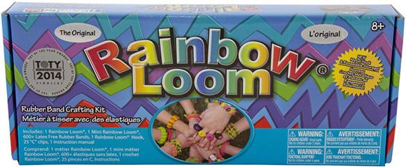 Оригинальный набор для плетения браслетов Rainbow LoomОригинальный набор для плетения браслетов из резиночек Рейнбоу Лум - уникальный набор для детского творчества, с помощью которого ребенок сможет самостоятельно создать множество различных украшений: браслетов, колечек, подвесок и многое другое.<br>