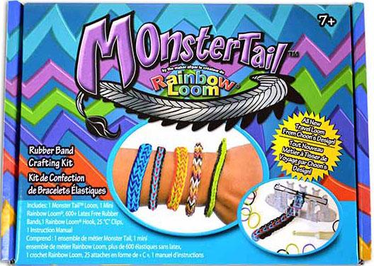 Компактный набор для плетения браслетов Rainbow LoomКомпактный набор для плетения браслетов Rainbow Loom - уникальный набор для детского творчества, с помощью которого ребенок сможет самостоятельно создать множество различных украшений: браслетов, колечек, подвесок и многое другое.<br>