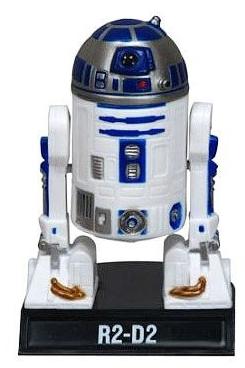 Фигурка-башкотряс  R2-D2 (13 см)Фигурка-башкотряс астромеханического дроида R2-D2 из вселенной Звездных войн<br>