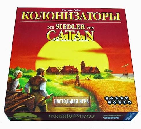 Настольная игра Колонизаторы настольная игра колонизаторы европа hobby world hw1134