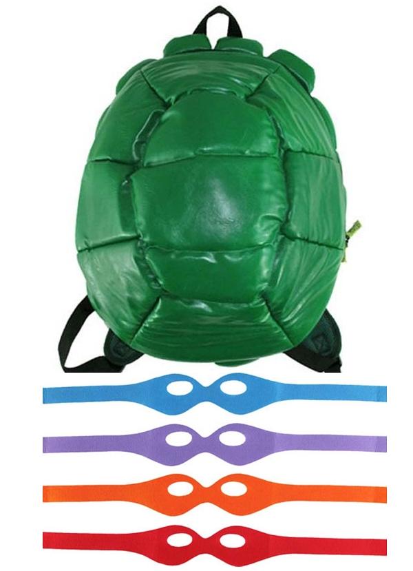 Рюкзак Черепашки НиндзяРюкзак Черепашки Ниндзя создан по мотивам серии комиксов Teenage Mutant Ninja Turtles, рассказывающих историю вымышленной команды, состоящей из четырёх антропоморфных черепах-мутантов, которые обучаются искусству ниндзюцу со своим сэнсэем, крысой-мутантом, мастером Сплинтером.<br>