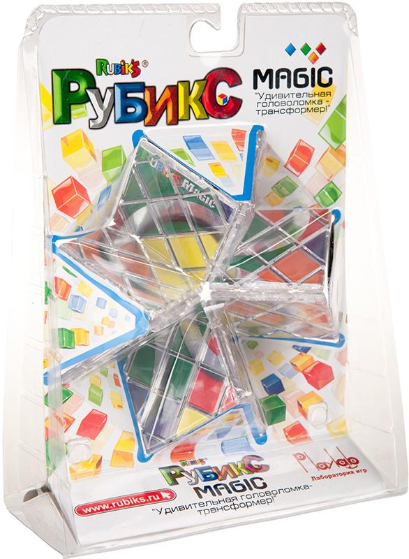 Головоломка-трансформер Магия РубикаПредставляем вашему вниманию головоломку-трансформер Магия Рубика, необычную и очень интересную головоломку из 8 квадратных панелей, образующих прямоугольную пластину 4х2 с рисунком в виде трех колец.<br>