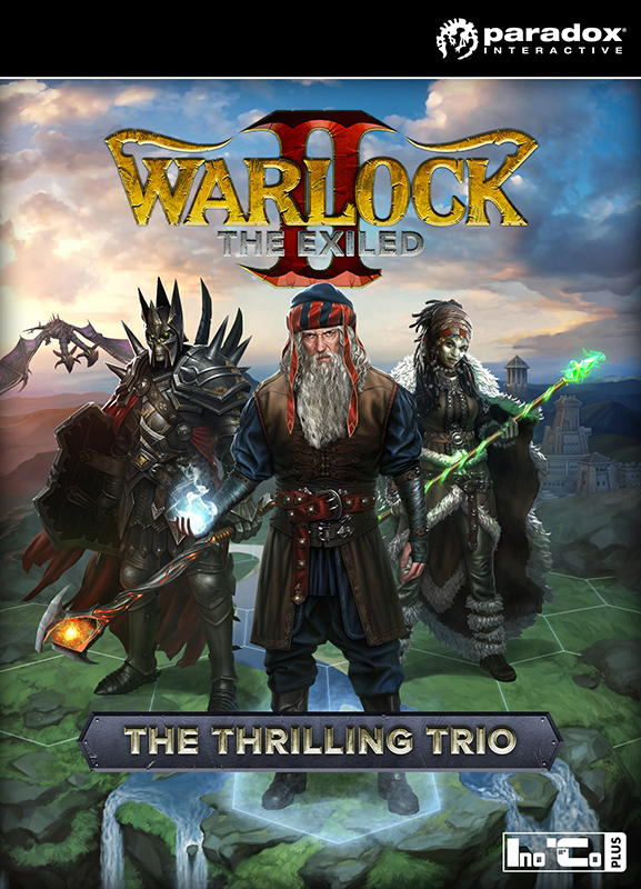 Warlock 2: The Exiled. The Thrilling Trio. Набор дополнений [PC, Цифровая версия] (Цифровая версия)