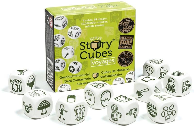 Настольная игра Кубики историй. Путешествия игра настольная обучающая rory s story cubes кубики историй космос