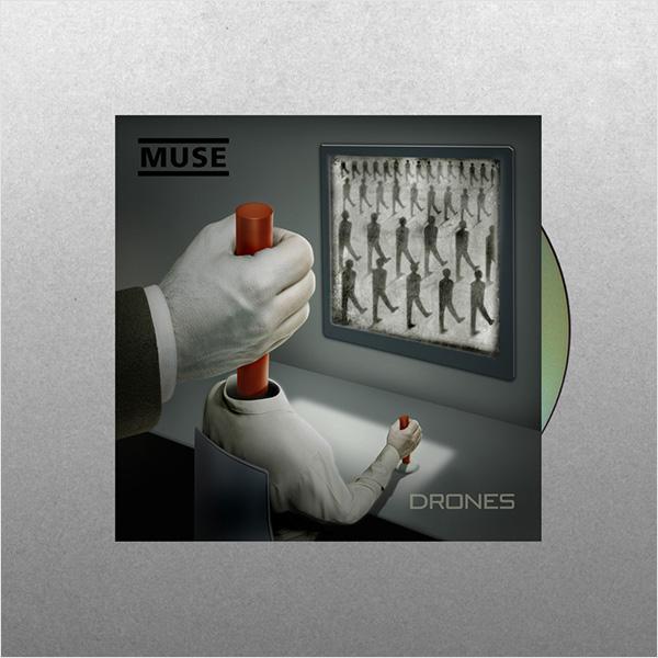 Muse: Drones (CD)8 июня состоится релиз одной из самых ожидаемых пластинок года – Drones Muse<br>